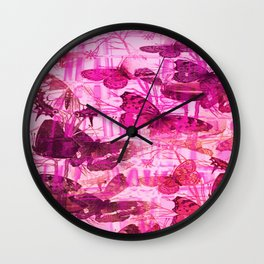 BUTTERFLY HOTHOUSE Wall Clock