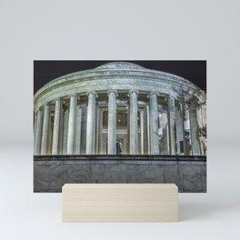 Jefferson Memorial - Side View Mini Art Print