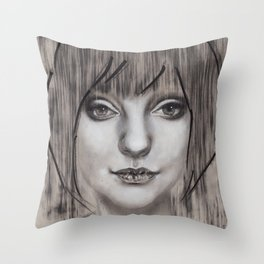 "Art Series ""Philosopher Kings I"" SIF & HER HAIR I Throw Pillow"