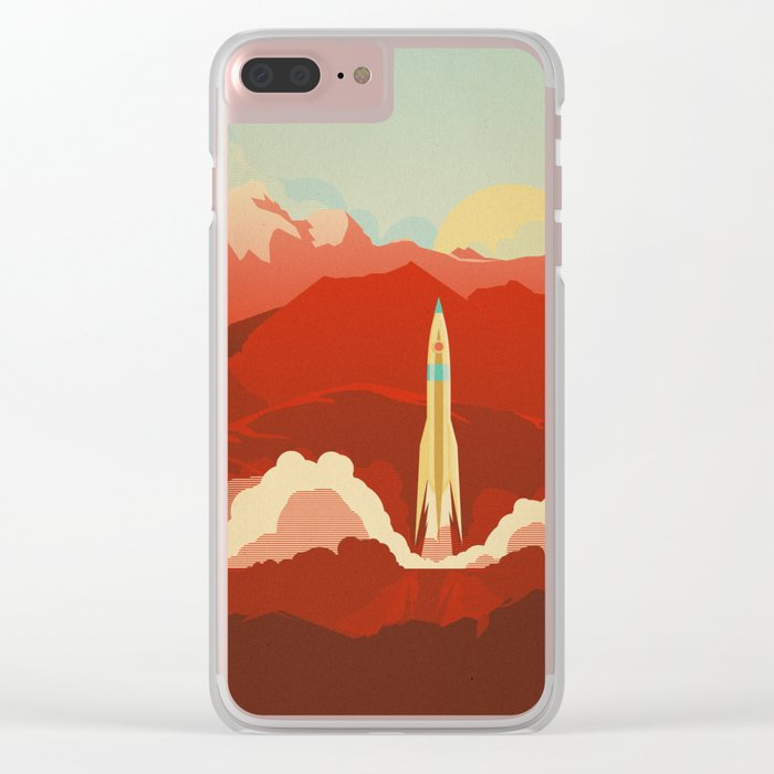 The Uncharted Clear iPhone Case