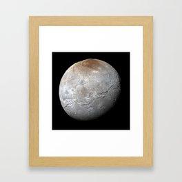 Charon Moon Framed Art Print