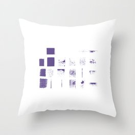 Ultraviolent Throw Pillow