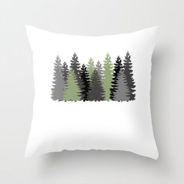 I'm off to the woods - lumberjack Throw Pillow