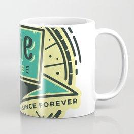 Fixie Bike Badge Coffee Mug