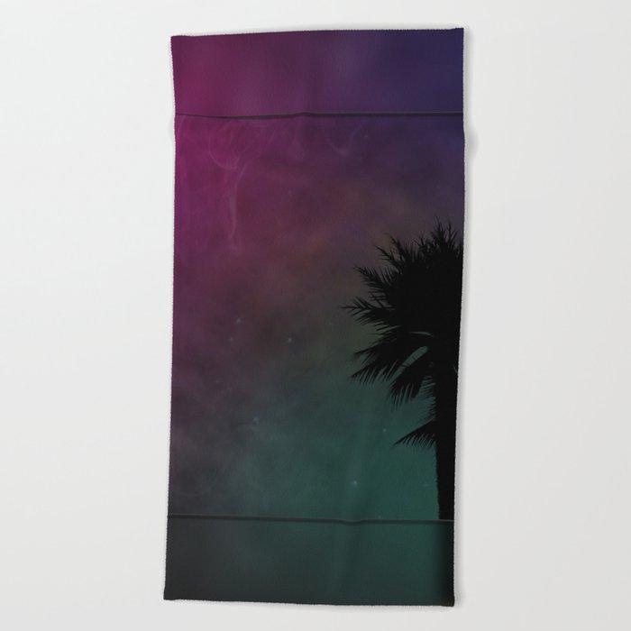 Cosmic Paradise Beach Towel