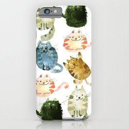 Krazy Cats iPhone Case