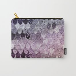 SUMMER MERMAID - PURPLE RAINBOW Carry-All Pouch