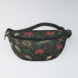 Swallows in a Spanish Rose Garden Fanny Pack