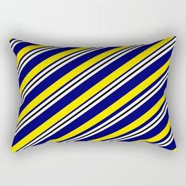 TEAM COLORS 1...navy,yellow Rectangular Pillow