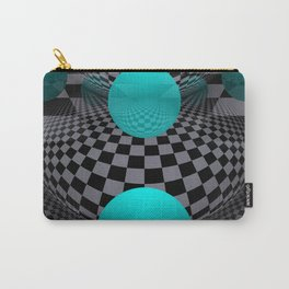 3D - abstraction -113- Carry-All Pouch