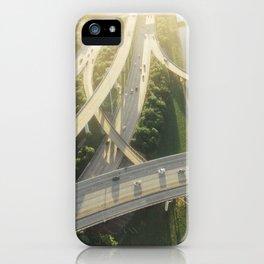 Houston Highways iPhone Case
