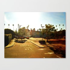 Parking Lot Canvas Print