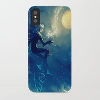 jack frost iPhone & iPod Cases featuring Jack Frost by AkiMao