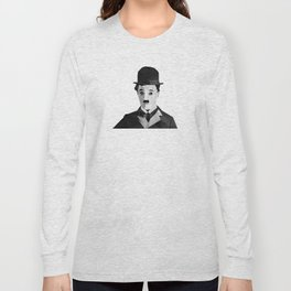 Chaplin Scomposition Long Sleeve T-shirt