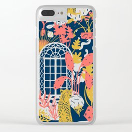 Patio to Paradise Clear iPhone Case