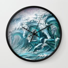 water horse Wall Clock