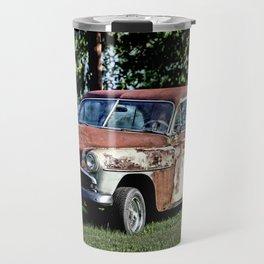 1952 Plymouth Cranbrook Seen Better Days Travel Mug