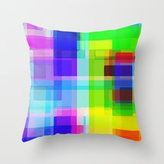 Colors#11 Throw Pillow