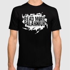 Read More Palahniuk  |  Chuck Palahniuk LARGE Black Mens Fitted Tee