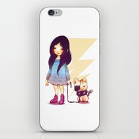 pigs iPhone & iPod Skins featuring Pirate Pigs by FlyOkay