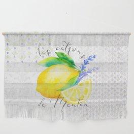Les Citrons de Menton—Lemons from Menton, Côte d'Azur Wall Hanging