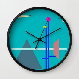 Two Sequences, Pyramid, Tower and Target Wall Clock