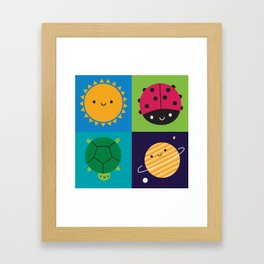Happy Nature Framed Art Print