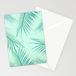 Summer Palm Leaves Dream #1 #tropical #decor #art #society6 Stationery Cards