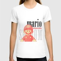 mario T-shirts featuring Mario by Thomas Official