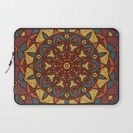 Mandala Autumn Colors Laptop Sleeve