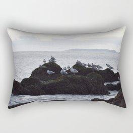 Birds of the Sea Rectangular Pillow