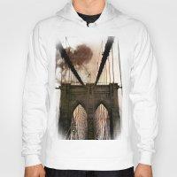 bridge Hoodies featuring Bridge by Daniela Battaglioli
