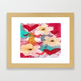 BOHO DELIGHT Framed Art Print