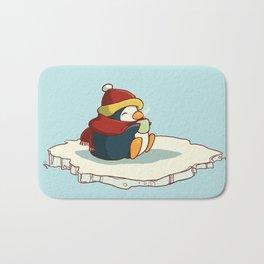 Happy penguin Bath Mat