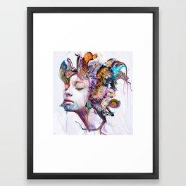 Echo Dissolve Framed Art Print