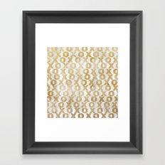 xoxo gold Framed Art Print