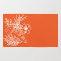 hawaiian Area & Throw Rugs featuring Hawaiian-Spring  by bodkin5