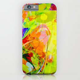 Abstract in Perfection - Flowermagic 6 iPhone Case