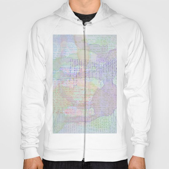 Words and Water Paint Hoody