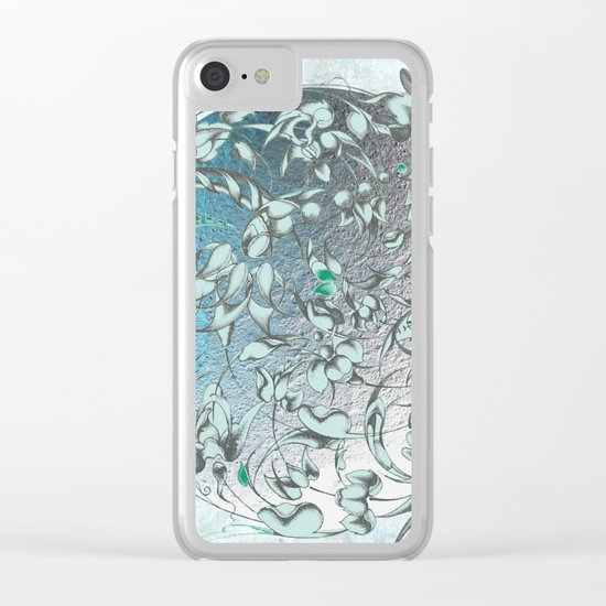 'The green world is man's sacred centre. Clear iPhone Case