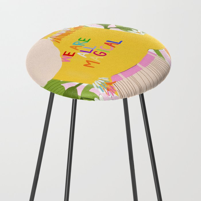 We are magical Counter Stool
