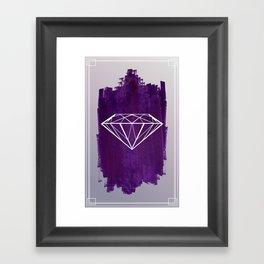 Paint | Diamond Framed Art Print
