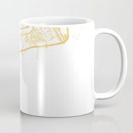 PANAMA CITY STREET MAP ART Coffee Mug
