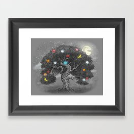 Midnight Snack  Framed Art Print