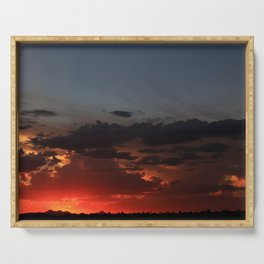 Amazing Arizona Sunsets VI Serving Tray