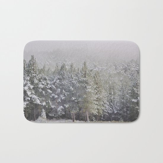 """""""Into the woods"""". At 2.500 meters hight Bath Mat"""