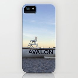Avalon, NJ iPhone Case
