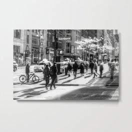 East 42nd Street New York Metal Print