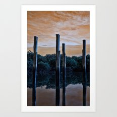Differnt World Art Print