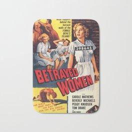 Betrayed Women Bath Mat